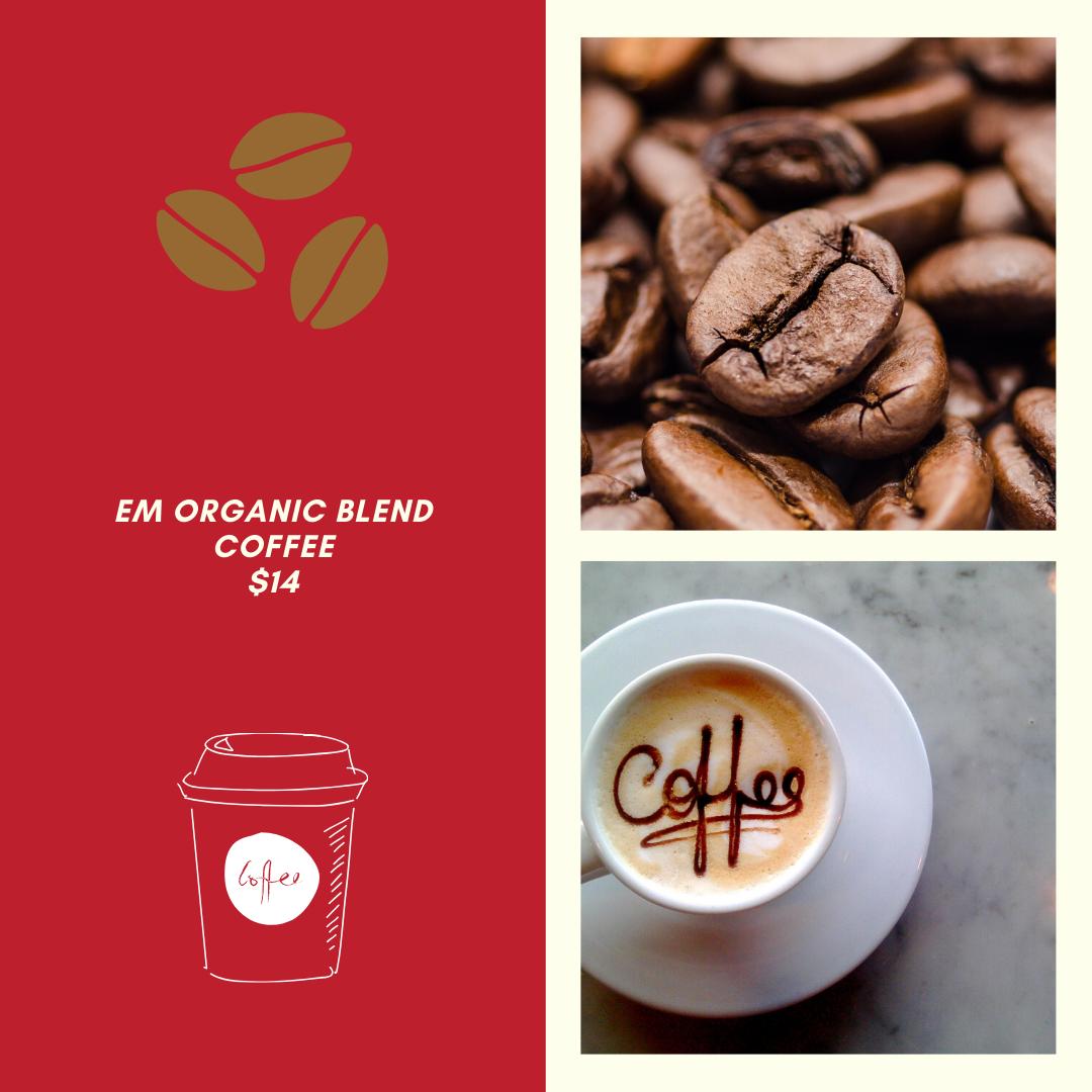 EM Coffee 1 Lb Bag