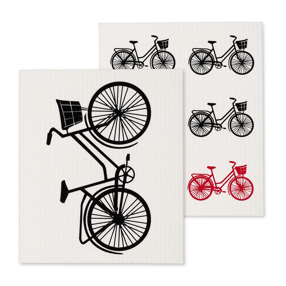 Swedish Dishcloth Set/2 - Bicycles