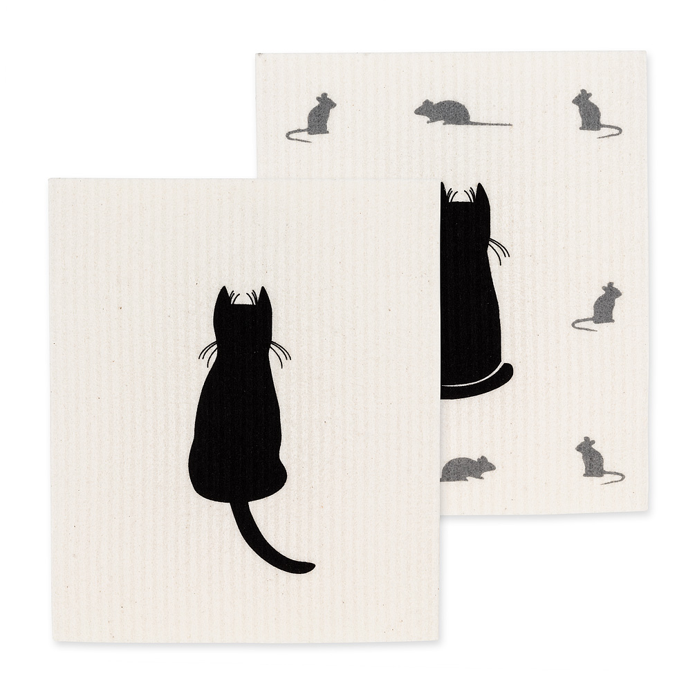 Swedish Dishcloth Set/2 - Cats