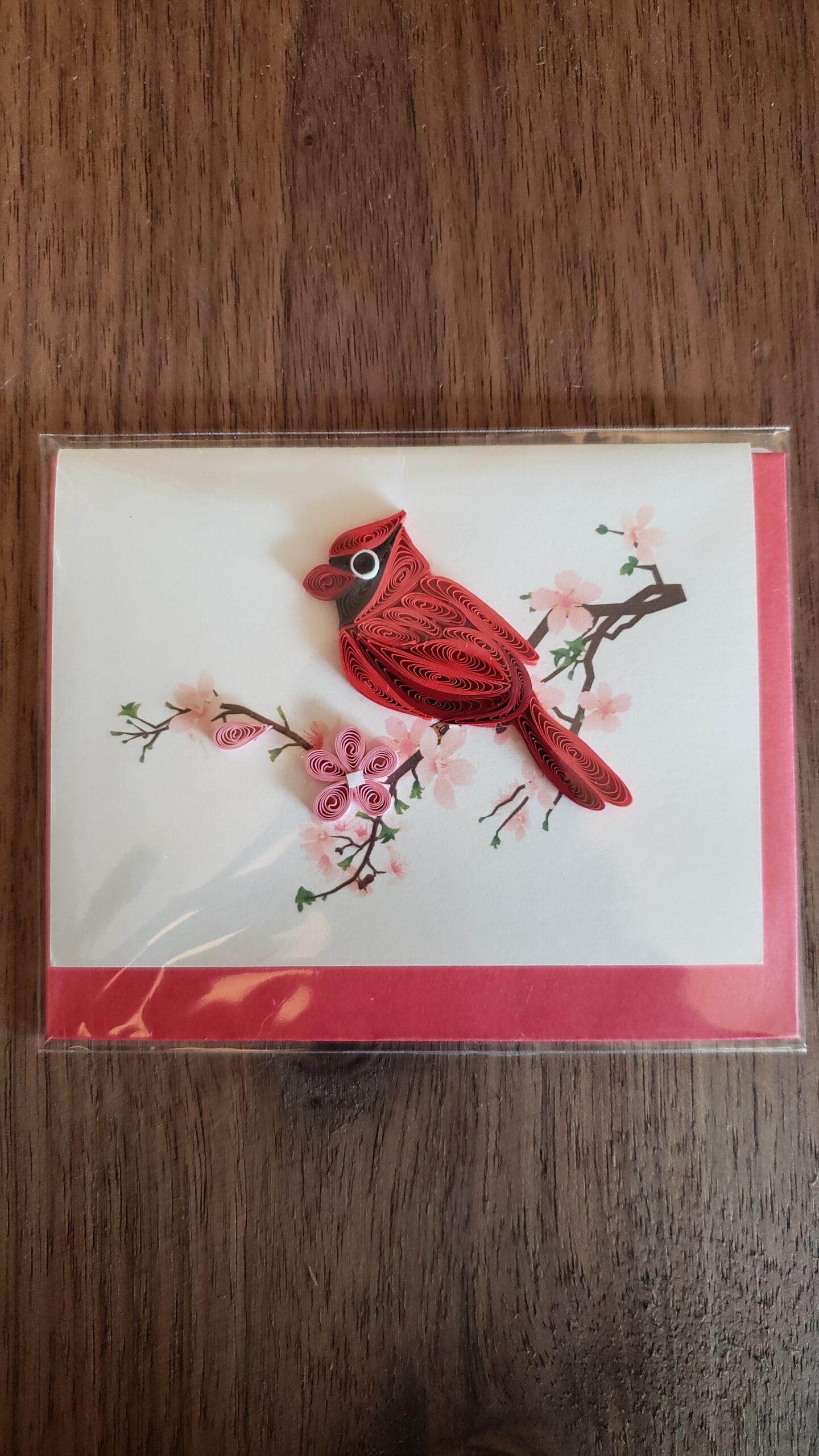 Cardinal Gift Enclosure