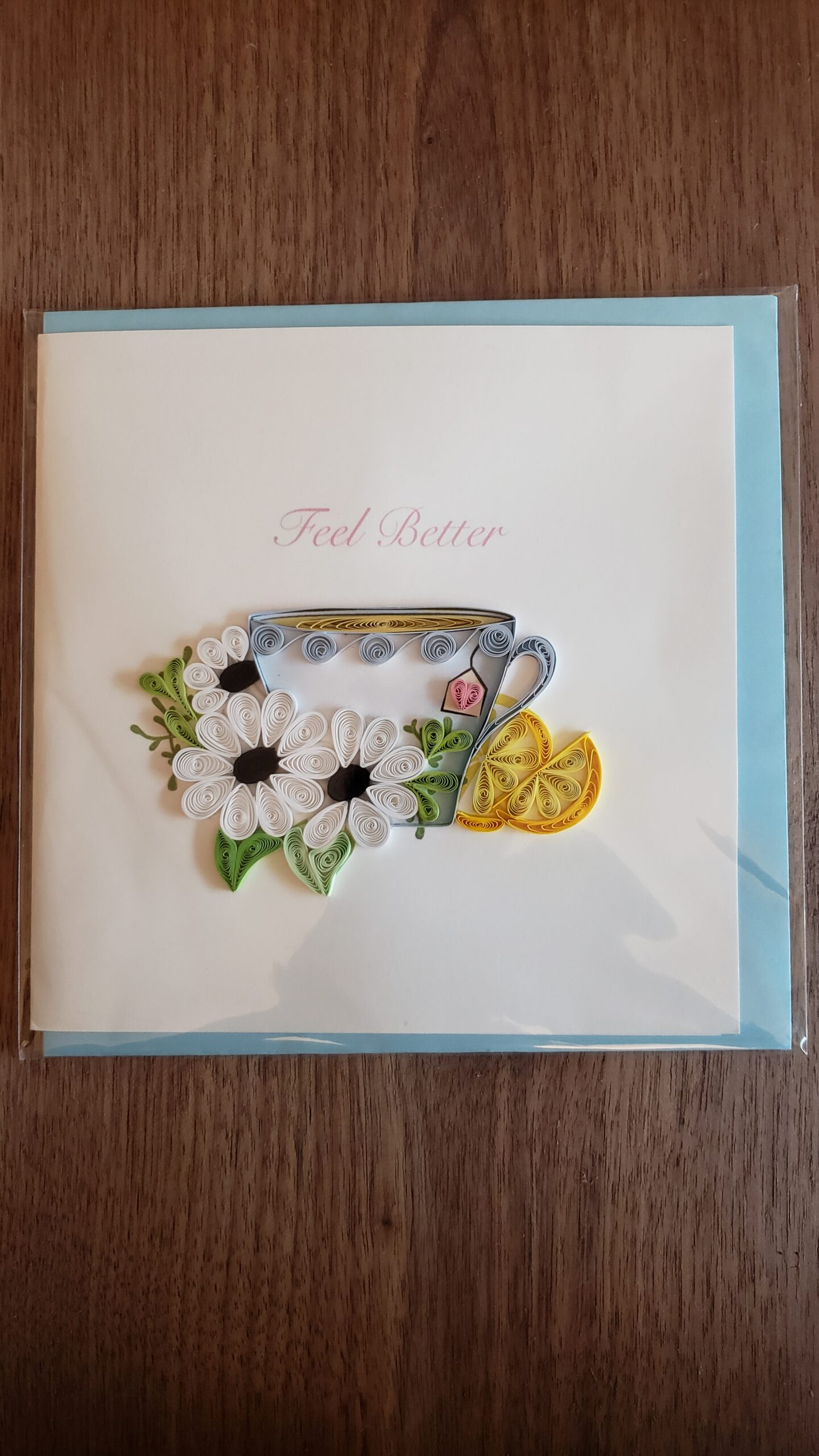 Feel Better Card 6 in. x 6 in.