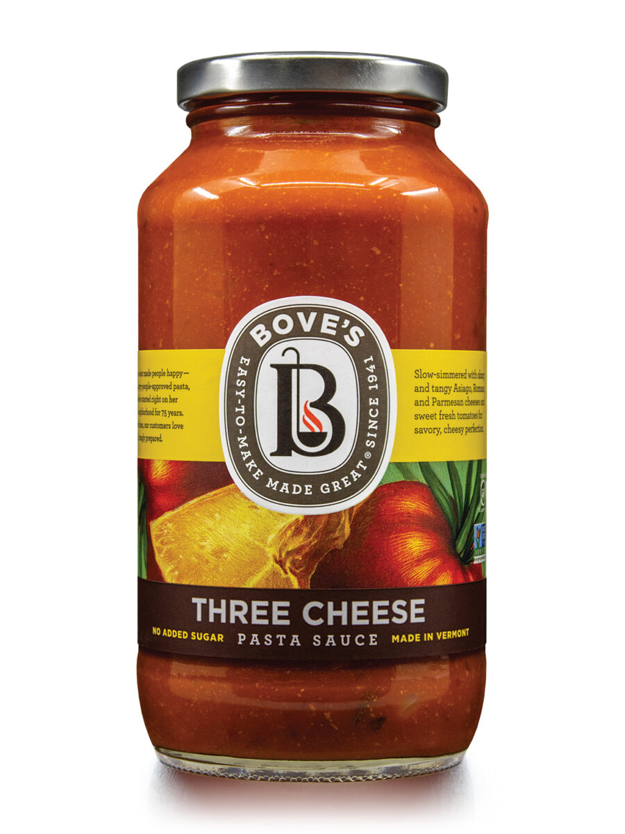 Bove's Three Cheese & Tomato